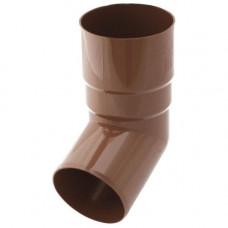 Коліно Труби Bryza Коричневе 90 мм