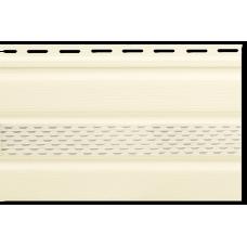 Софіт Кремовий З Перфорацією Альта - Профіль 3000/232/12 мм