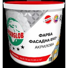 Фарба Фасадна Еко+ Акрилова ANSERGLOB 4,2 кг
