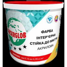 Фарба Інтер'єрна Стійка до Миття Акрилова ANSERGLOB 4,2кг