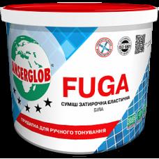 Суміш Затирочна Еластична Біла FUGA ANSERGLOB 1 кг