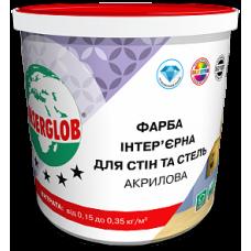 Фарба Інтер'єрна Для Стін та Стель Акрилова ANSERGLOB 4,2кг