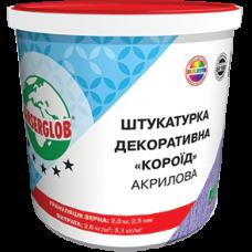 Декоративна Штукатурка Короїд  Акрилова ANSERGLOB 25 кг