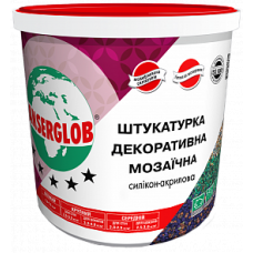 Штукатурка Декоративна Мозаїчна Силікон-Акрилова ANSERGLOB 5 кг