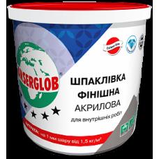 Шпаклівка Фінішна Акрилова ANSERGLOB 17кг