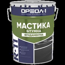 Мастика Бітумна ОРЕОЛ R-11 Фундаментна 12 кг